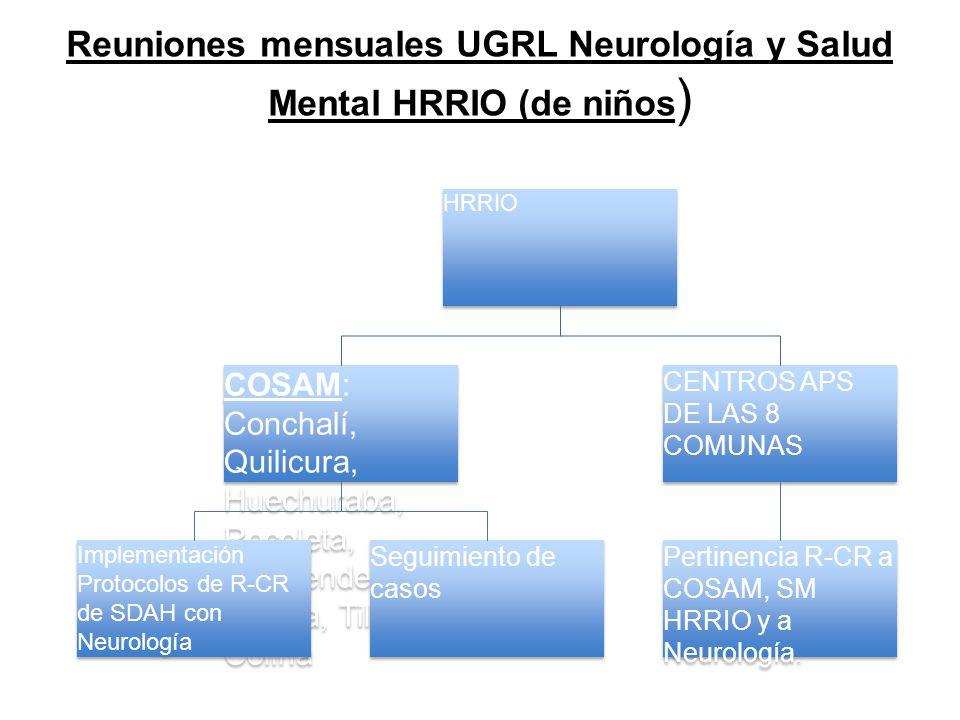 Reuniones mensuales UGRL Neurología y Salud Mental HRRIO (de niños)