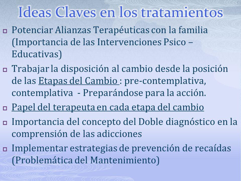 Ideas Claves en los tratamientos