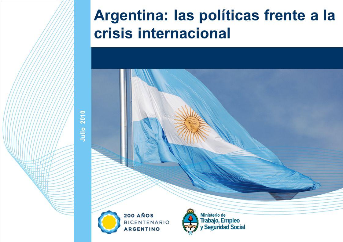 Argentina: las políticas frente a la crisis internacional