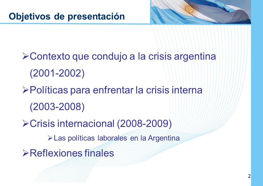 Contexto que condujo a la crisis argentina (2001-2002)