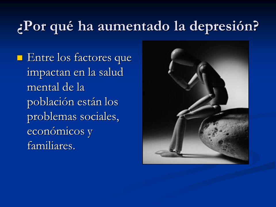 ¿Por qué ha aumentado la depresión