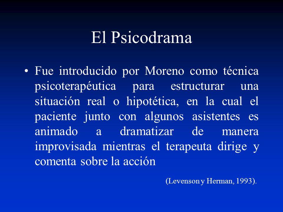 El Psicodrama