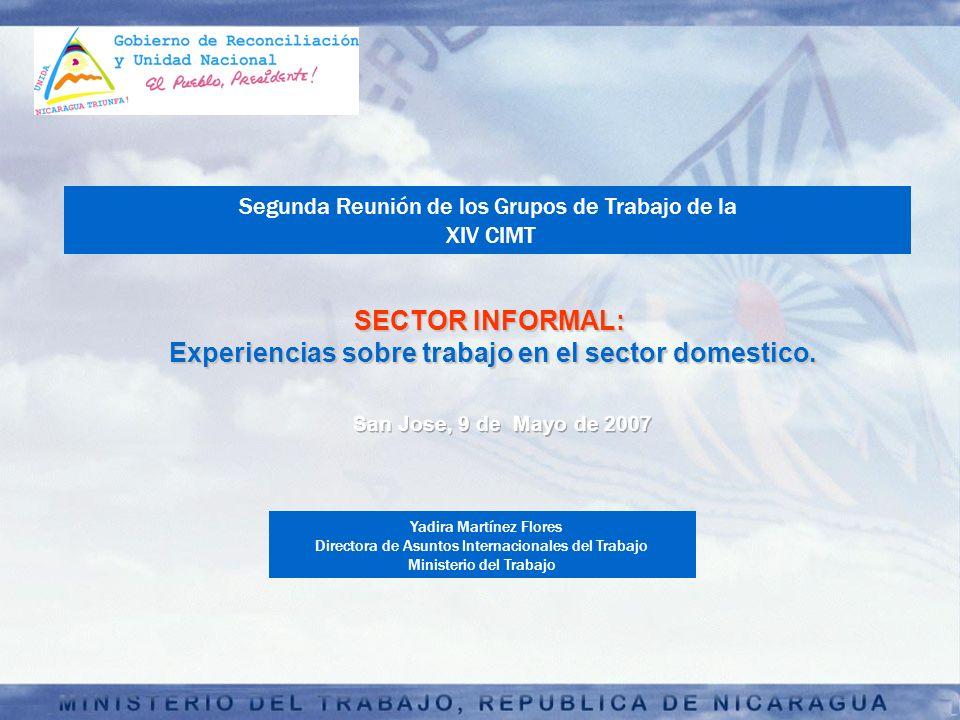 Experiencias sobre trabajo en el sector domestico.