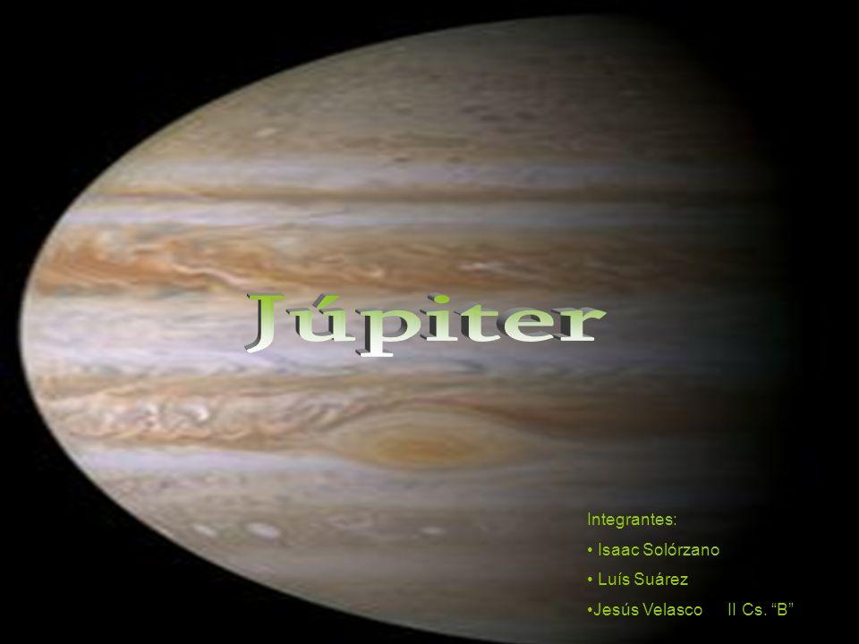 Júpiter Integrantes: Isaac Solórzano Luís Suárez