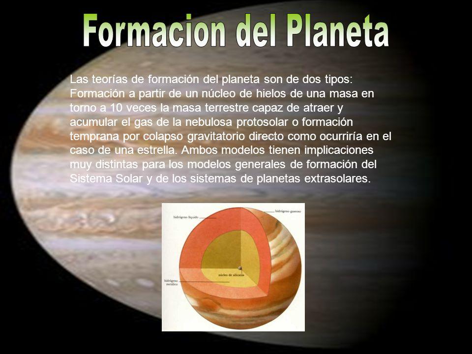 Formacion del Planeta