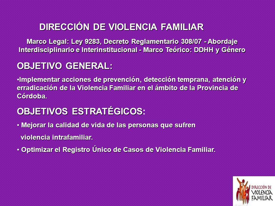 DIRECCIÓN DE VIOLENCIA FAMILIAR
