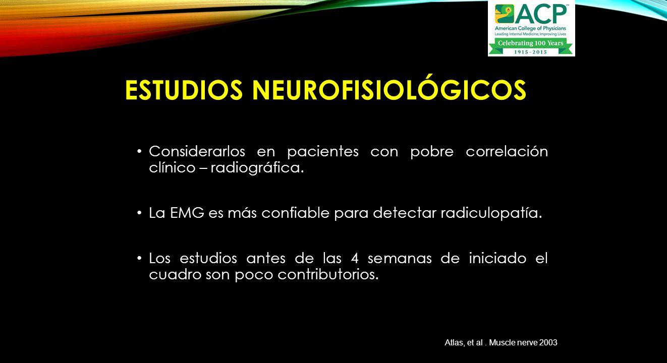 EstuDios neurofisiológicos