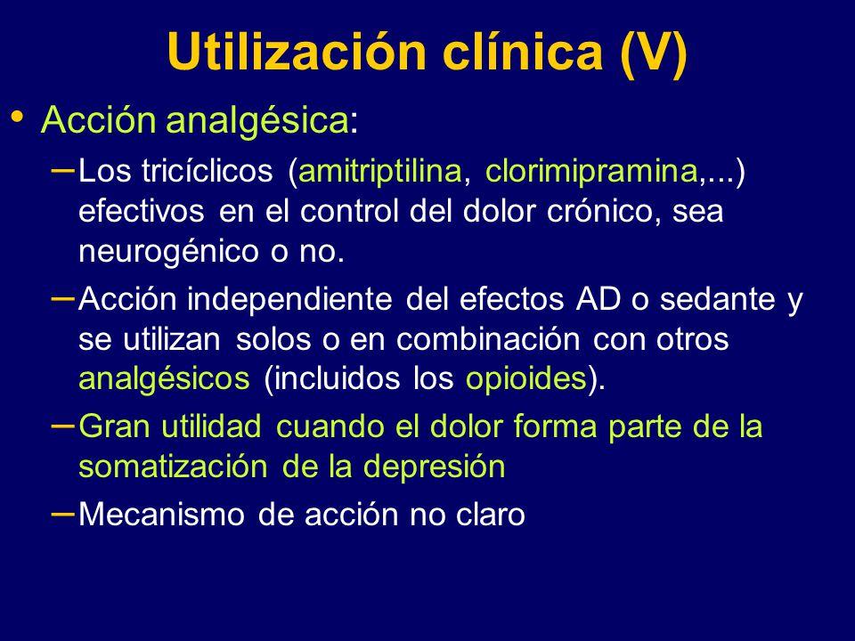 Utilización clínica (V)
