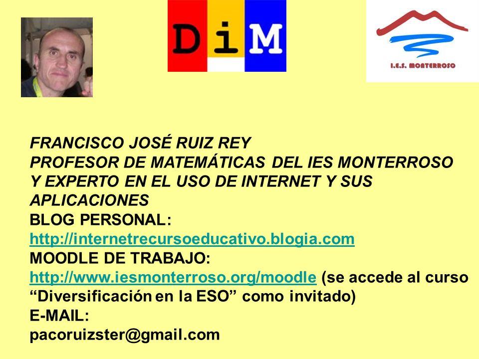 FRANCISCO JOSÉ RUIZ REY