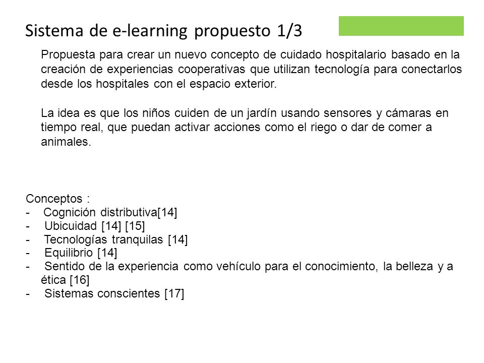 Sistema de e-learning propuesto 1/3
