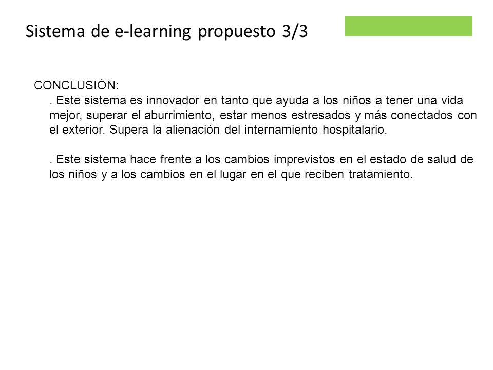 Sistema de e-learning propuesto 3/3