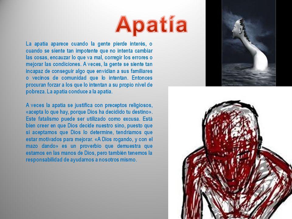 Apatía
