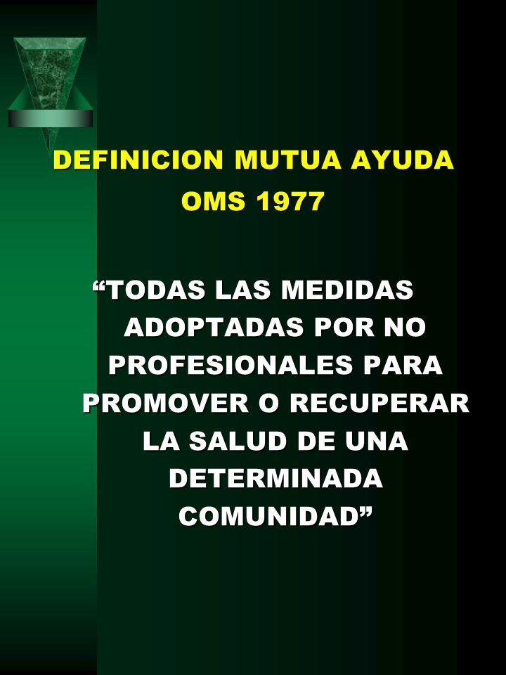 DEFINICION MUTUA AYUDA