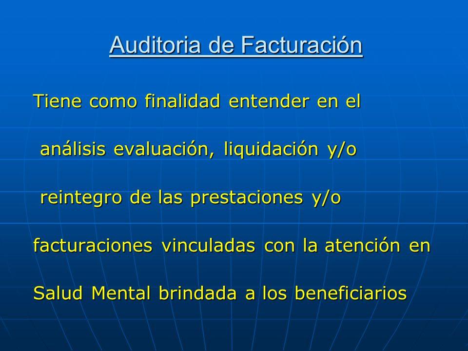 Auditoria de Facturación