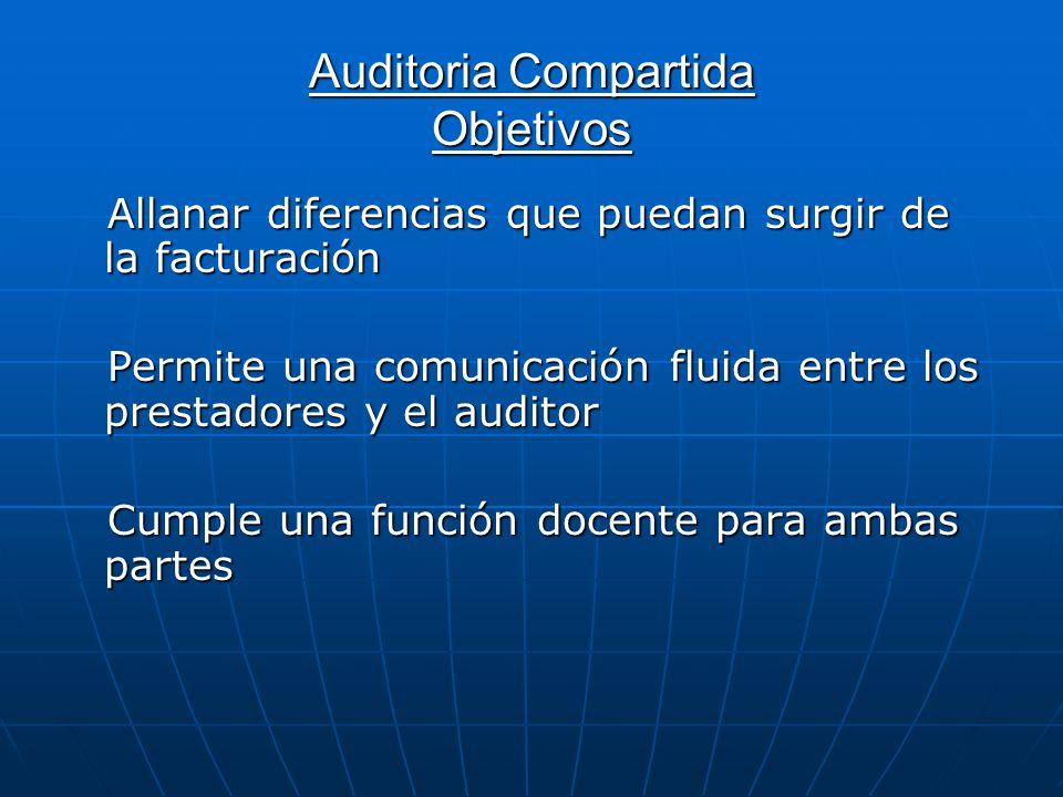 Auditoria Compartida Objetivos