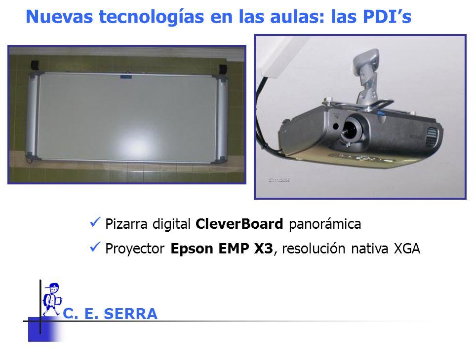 Nuevas tecnologías en las aulas: las PDI's