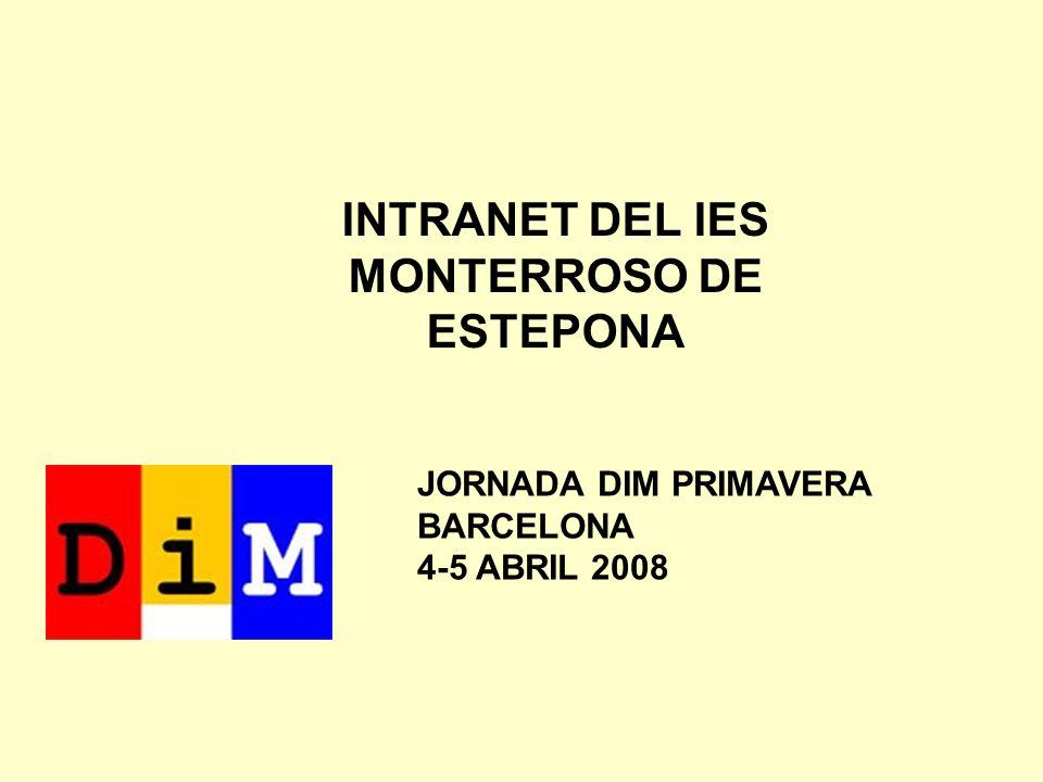 INTRANET DEL IES MONTERROSO DE ESTEPONA