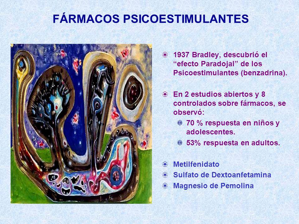 FÁRMACOS PSICOESTIMULANTES