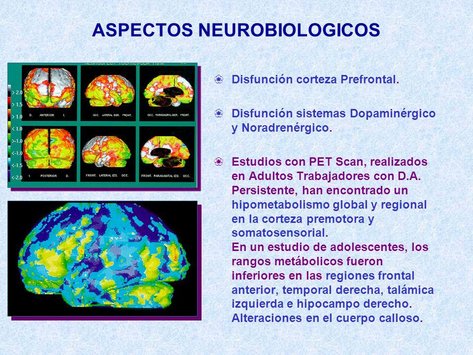 ASPECTOS NEUROBIOLOGICOS