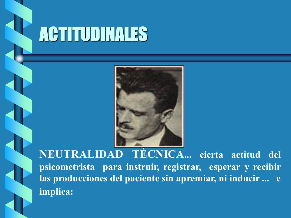 ACTITUDINALES