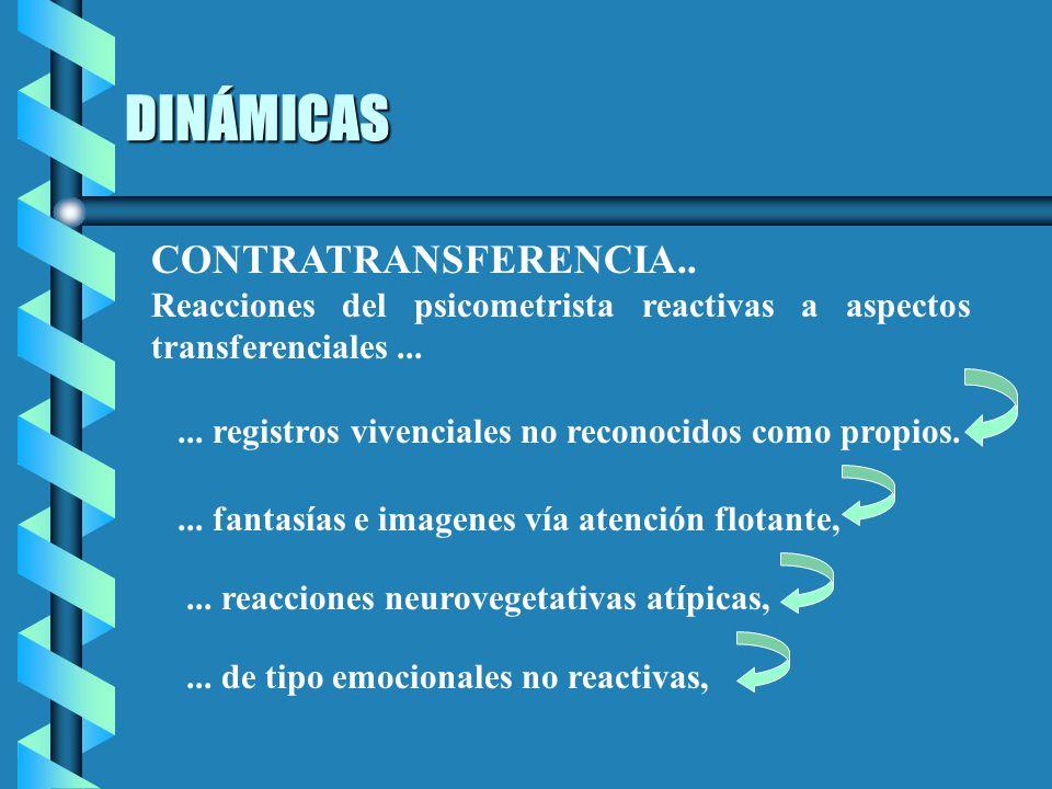 DINÁMICAS CONTRATRANSFERENCIA..