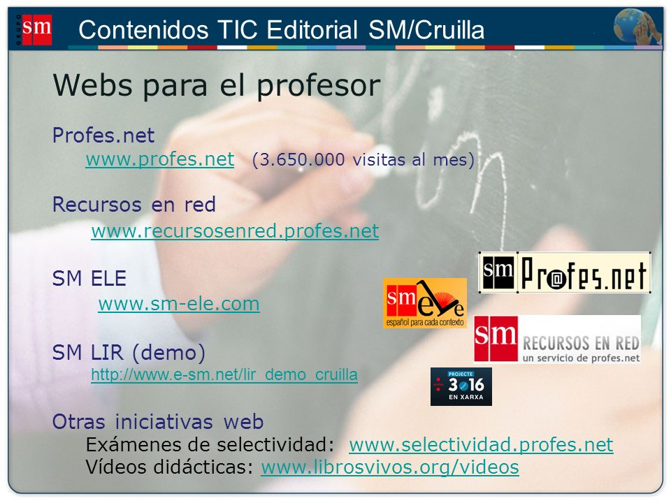 Webs para el profesor www.recursosenred.profes.net Profes.net