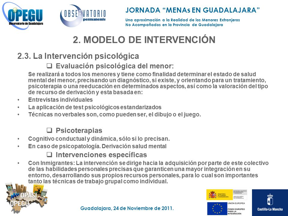 2. MODELO DE INTERVENCIÓN