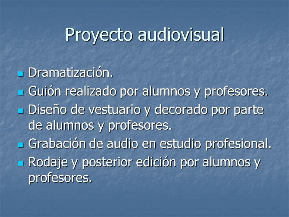 Proyecto audiovisual Dramatización.