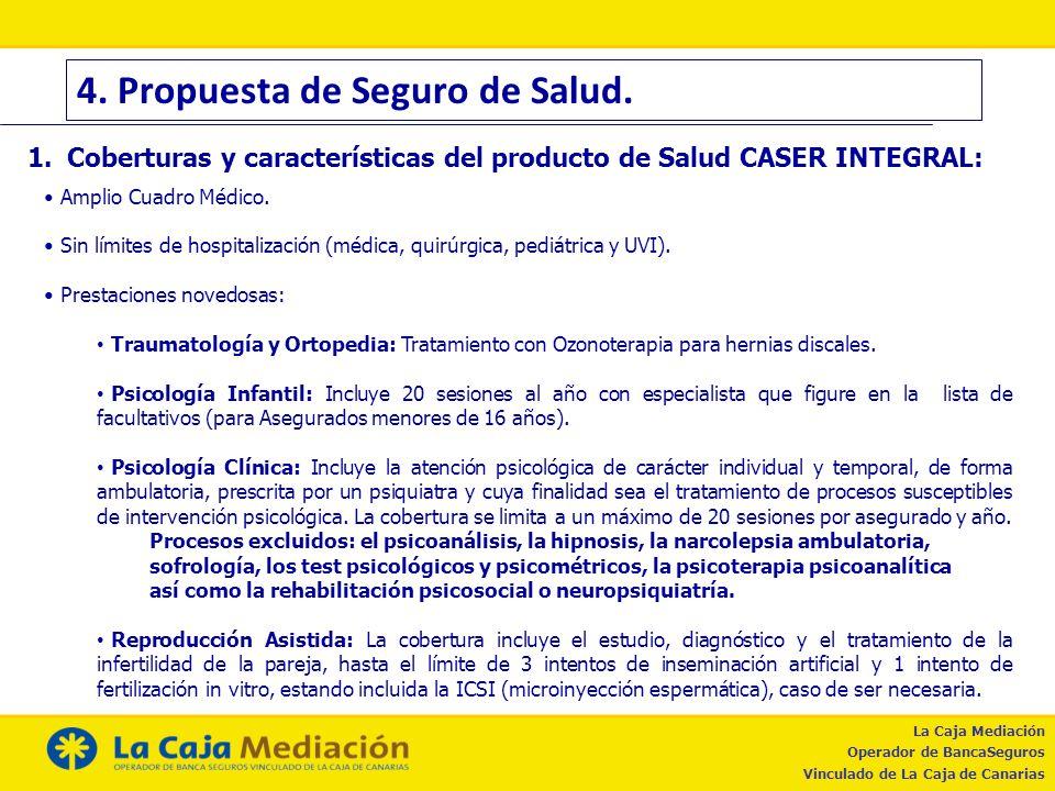 4. Propuesta de Seguro de Salud.