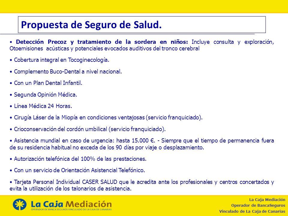 Propuesta de Seguro de Salud.