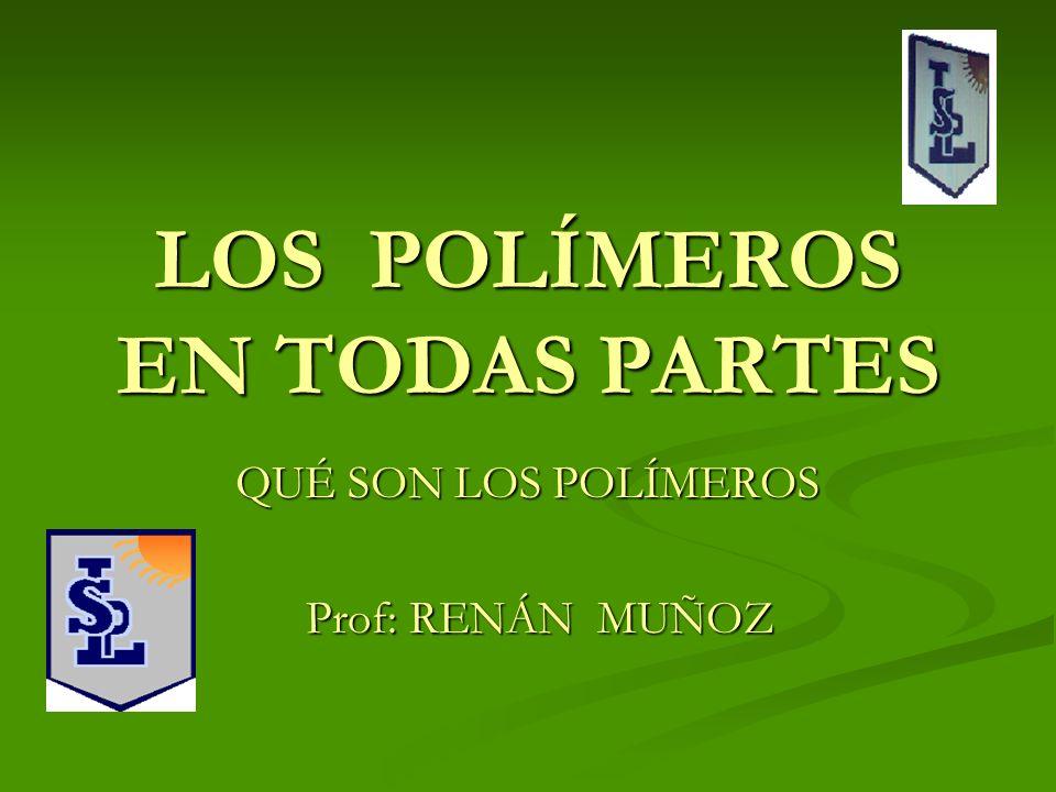 LOS POLÍMEROS EN TODAS PARTES