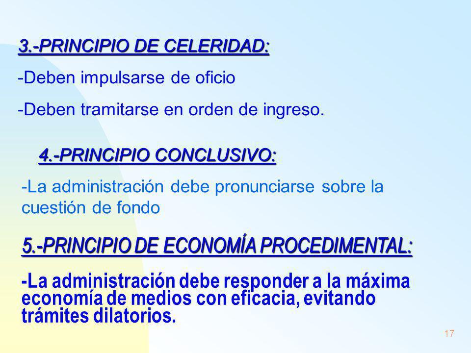4.-PRINCIPIO CONCLUSIVO: