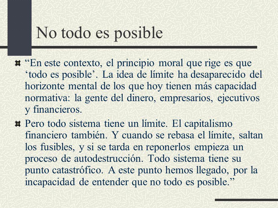 No todo es posible