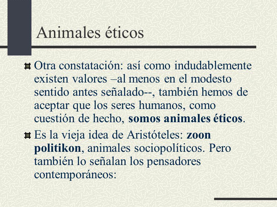 Animales éticos