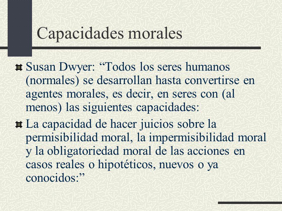 Capacidades morales