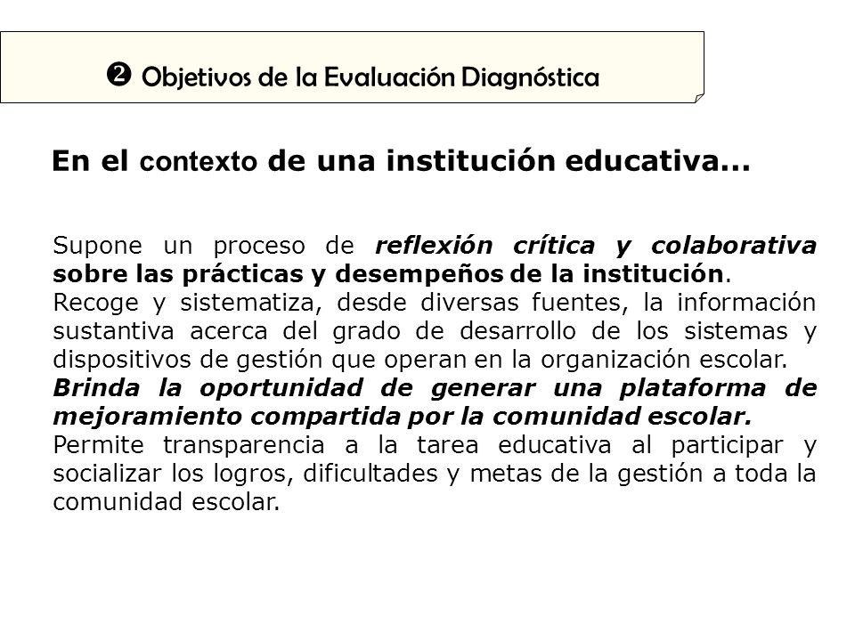 En el contexto de una institución educativa...