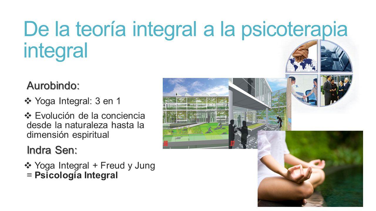 De la teoría integral a la psicoterapia integral