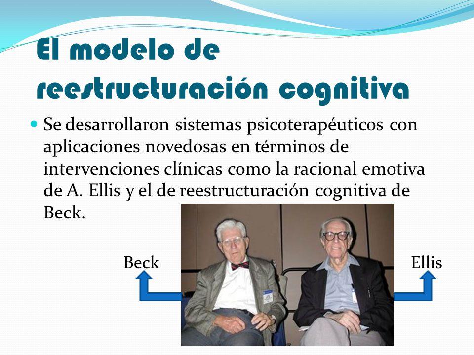 El modelo de reestructuración cognitiva