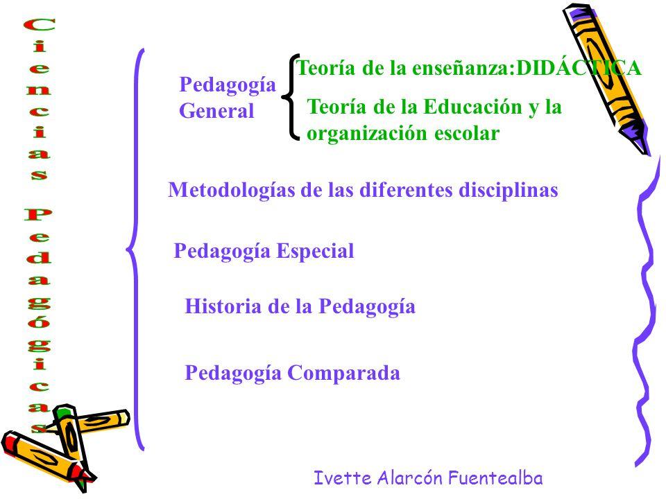 Teoría de la enseñanza:DIDÁCTICA Pedagogía General
