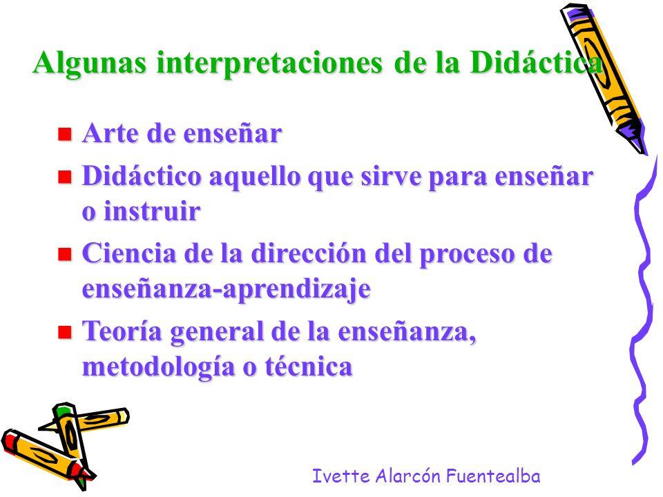 Algunas interpretaciones de la Didáctica