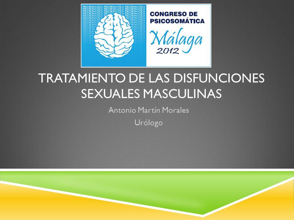Tratamiento de las Disfunciones Sexuales Masculinas
