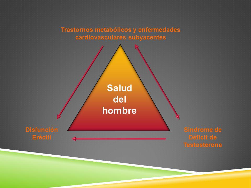 Trastornos metabólicos y enfermedades cardiovasculares subyacentes