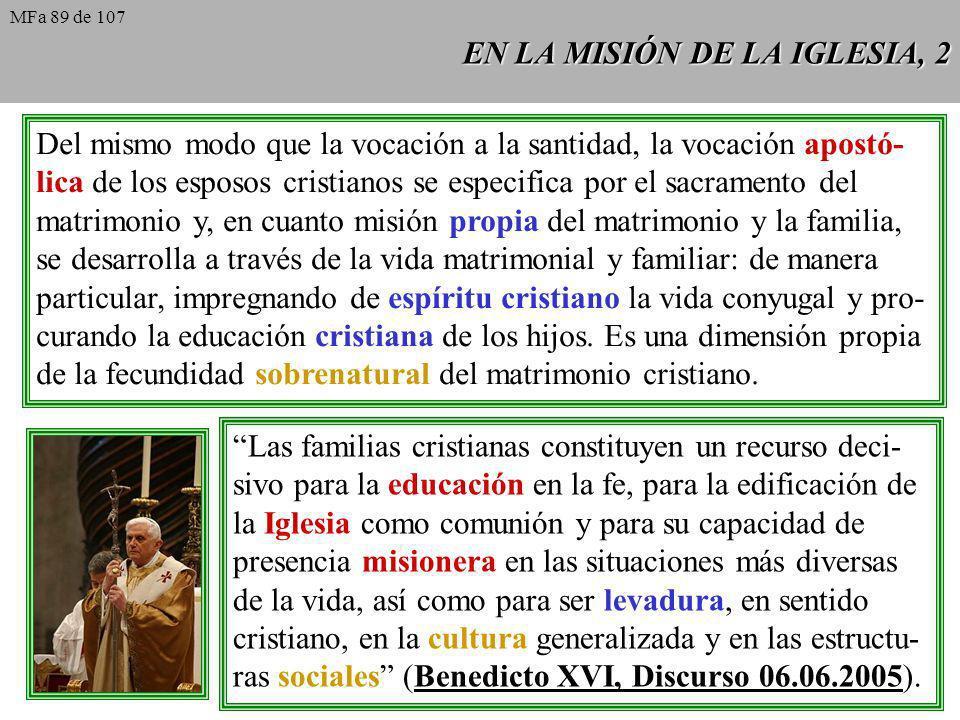EN LA MISIÓN DE LA IGLESIA, 2