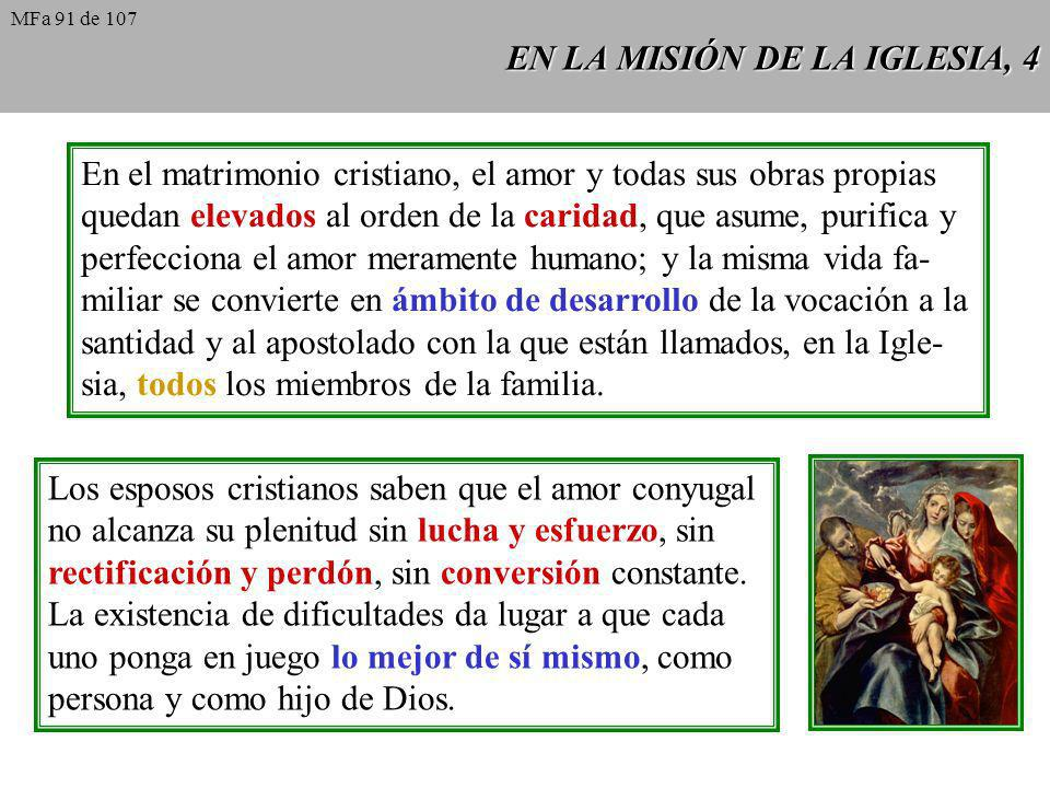 EN LA MISIÓN DE LA IGLESIA, 4