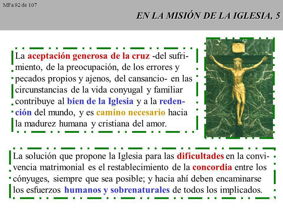 EN LA MISIÓN DE LA IGLESIA, 5