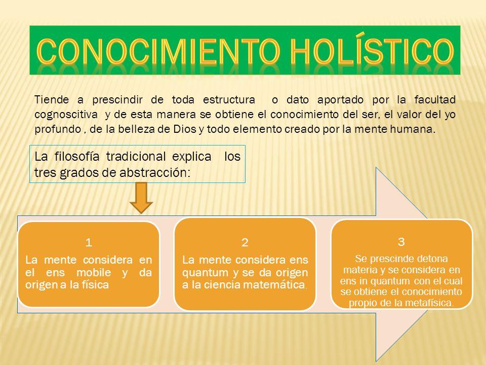 Conocimiento holístico