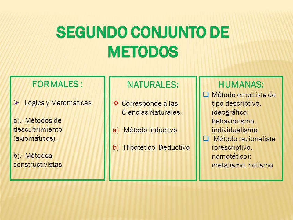 SEGUNDO CONJUNTO DE METODOS