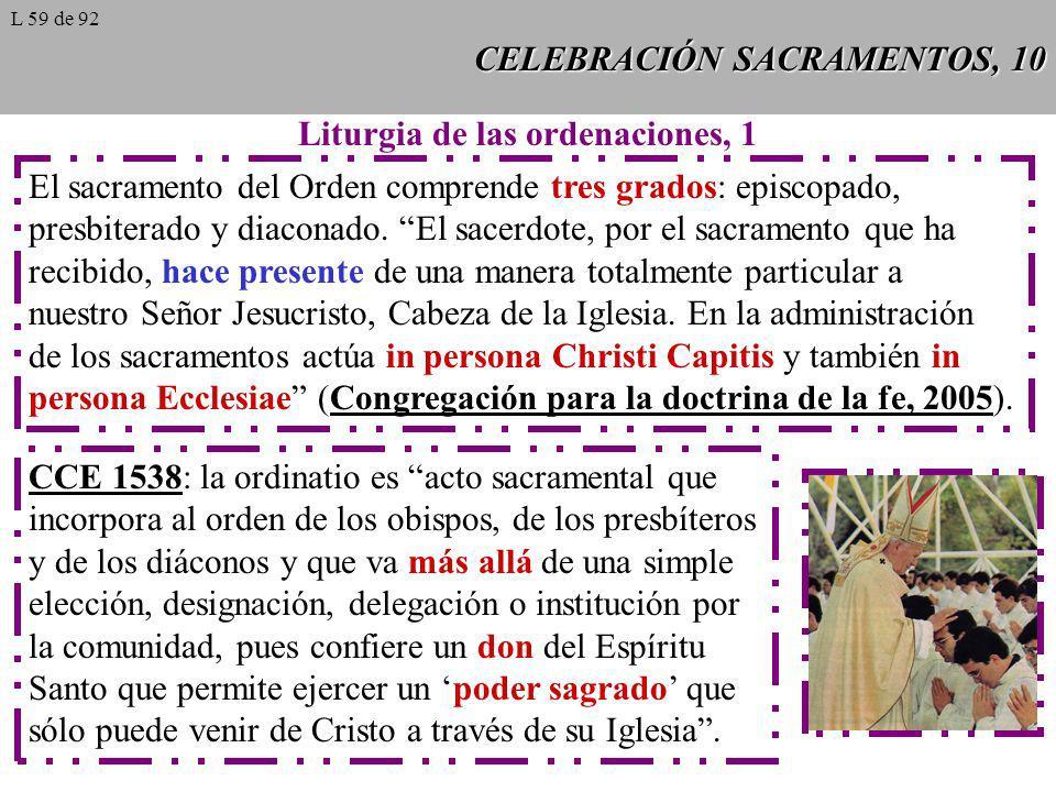 CELEBRACIÓN SACRAMENTOS, 10