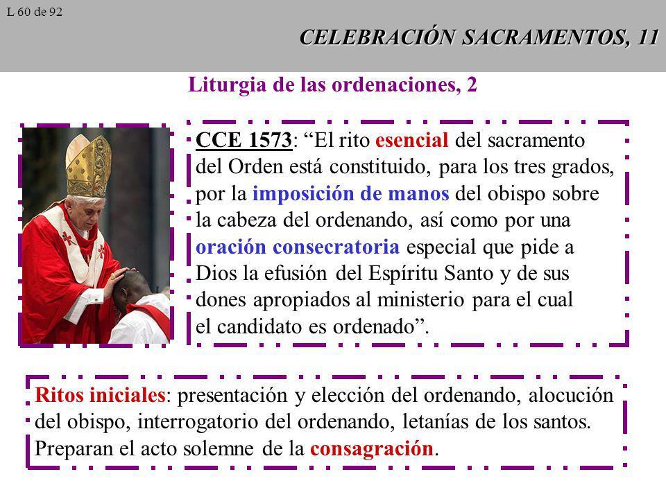 CELEBRACIÓN SACRAMENTOS, 11