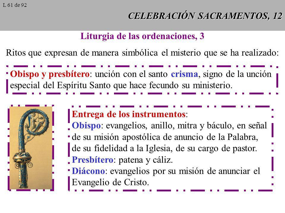 CELEBRACIÓN SACRAMENTOS, 12